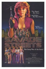 Poster Art: Savage Streets (1984)
